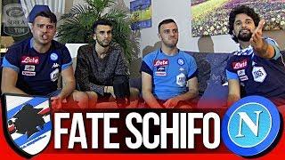 FATE SCHIFO!!! SAMPDORIA 0-2 NAPOLI | LIVE REACTION TIFOSI NAPOLETANI HD