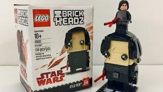 LEGO BrickHeadz Kylo Ren Review! 41603