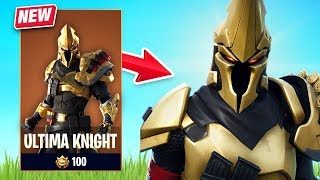 New Ultima Knight Skin Gameplay - Fort Knights Set! (Fortnite Battle Royale)