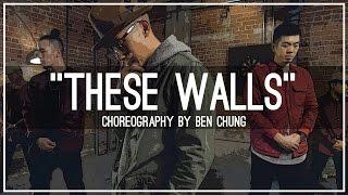 "Moss Kena ""These Walls"" | Choreography by Ben ""B-Tek"" Chung"
