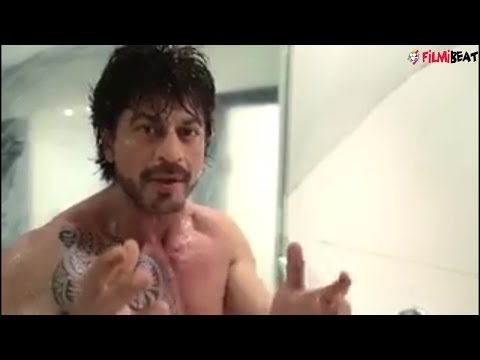 Shahrukh Khan shares video while taking bath, promotes Dear Zindagi; Must Watch | Filmibeat