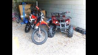 DB-X29 X-PRO® 125cc & Coolster 125cc ATV