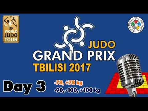 Judo Grand-Prix Tbilisi 2017: Day 3