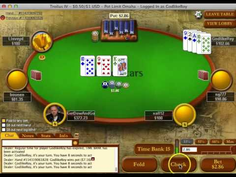 GodlikeRoy - Pot Limit Omaha - Learn Poker
