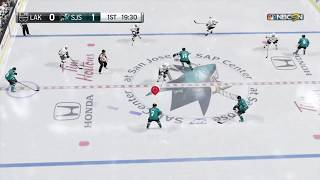 San Jose Sharks Authentic 2018 Goal Horn With NHL 18 Gameplay