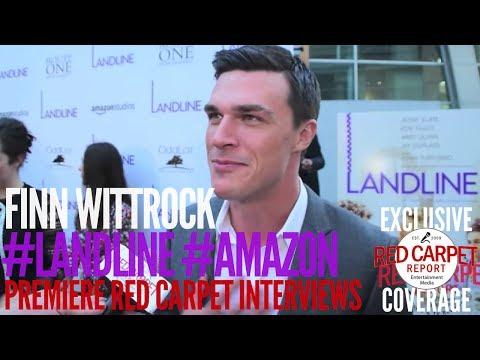 Finn Wittrock ed at Landline Los Angeles Premiere amazonstudios LandlineMovie