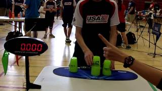 Individual Cycle Sport Stacking World Record 5.303 (William Orrell)