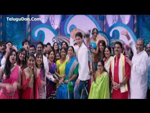 Vacchindi Kada Avakasam Full Video Song Hd 1080p brahmotsavam Moie maheshbabu kajal