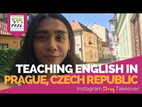 Day in the Life Teaching English in Prague, Czech Republic with Jessica Diesta