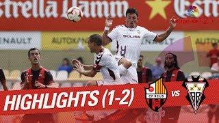 Resumen de CF Reus vs Albacete BP (1-2)