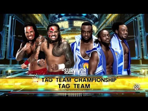 WWE WORLD TAG TEAM CHAMPIONSHIP MATCH