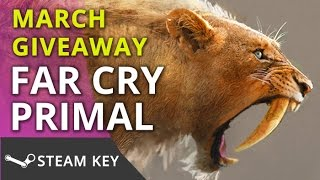 [CLOSED] Far Cry Primal PC Steam Giveaway