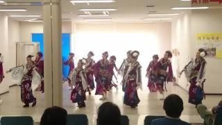 「正調よさこい」月下桜舞連 イオン坂出2017.05.03