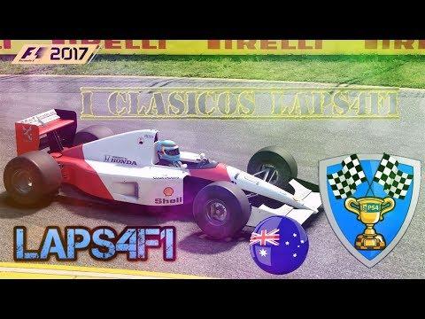 🔴 F1 2017 Clasicos // Mundial LaPS4 - Gp Australia 01/11