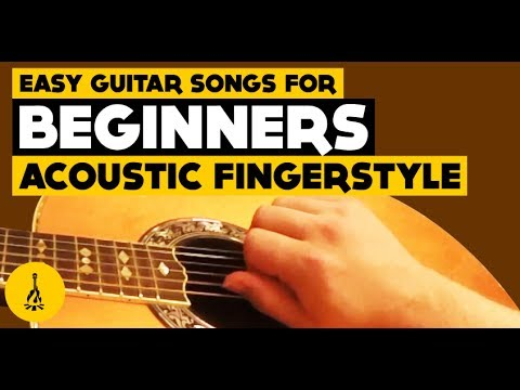 Easy Guitar Songs For Beginners Acoustic Fingerstyle Hallelujah