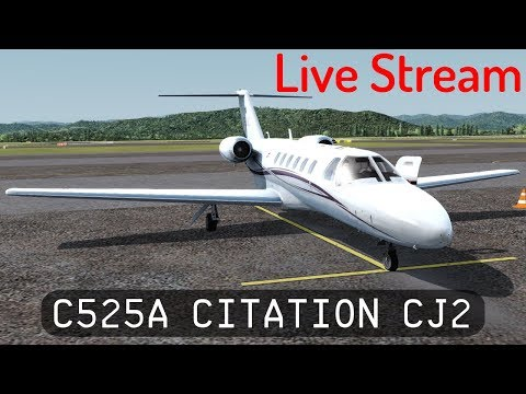 P3D V4.2 - Trying out the Cessna 525A Citation CJ2