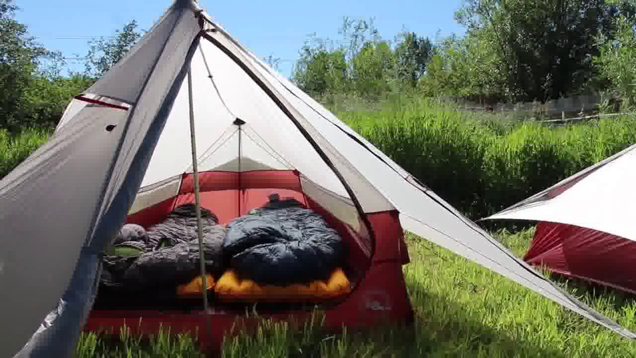 Make Use of Your Trekking Poles With The Big Agnes Scout Tents & Make Use of Your Trekking Poles With The Big Agnes Scout Tents ...