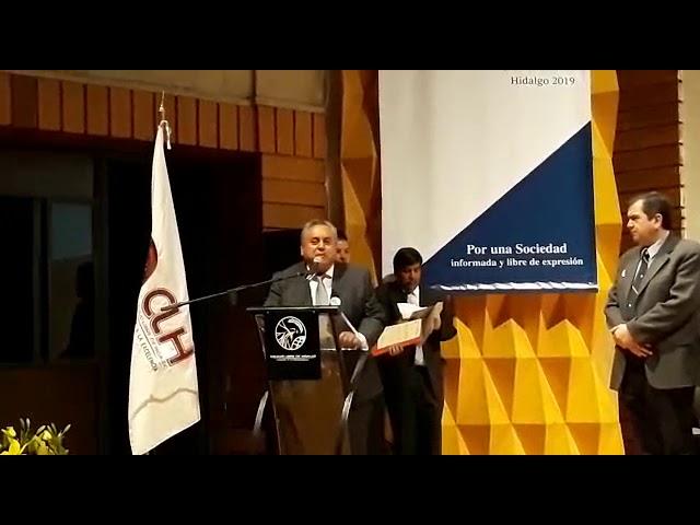 ENTREGAN RECONOCIMIENTO AL GOBIERNO MUNICIPAL POR REHABILITACIÓN DEL PARQUE EL CALVARIO