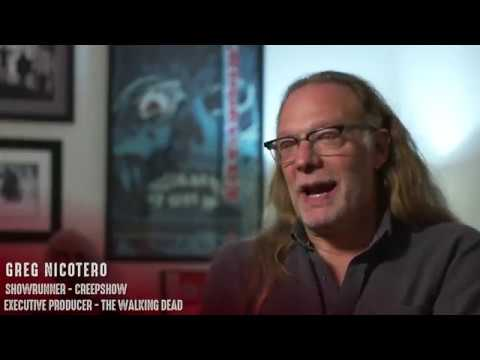 Greg Nicotero discusses working with friends on Creepshow