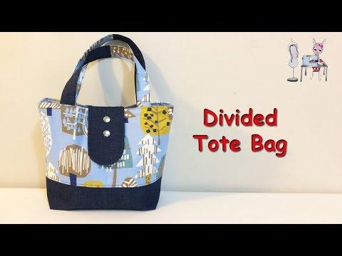 TOTE BAG  | DIY BAG |  HANDBAG  | BAG SEWING TUTORIAL |COUDRE UN SAC | BOLSA