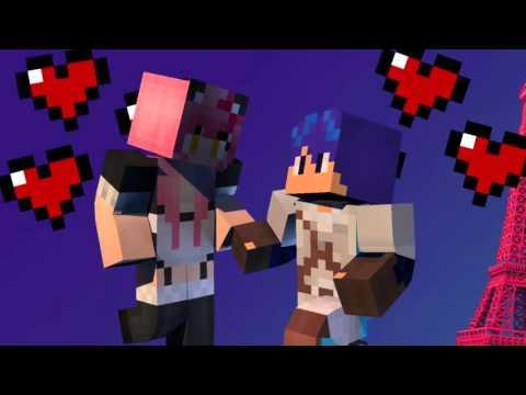 DanCha (Dante & Kawaii Chan) Minecraft Diaries (Music Video)
