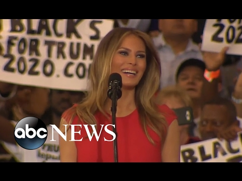 Melania Trump Full Speech at Florida Trump Rally | ABC News