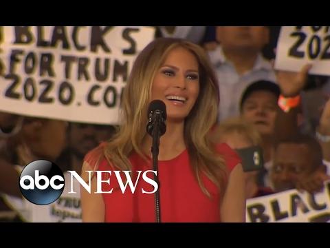 Melania Trump Full Speech at Florida Trump Rally | ABC News