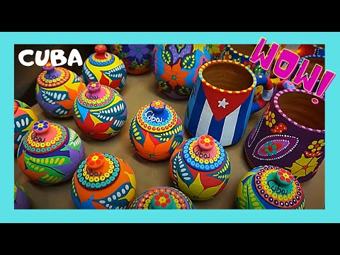 CUBA: The beautiful ARTS & CRAFTS MARKET in HAVANA, what to buy