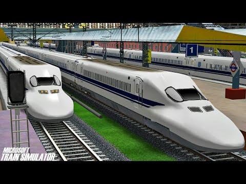 Mumbai - Ahmedabad Bullet Train || Indian Railways || MSTS Open Rails Journey
