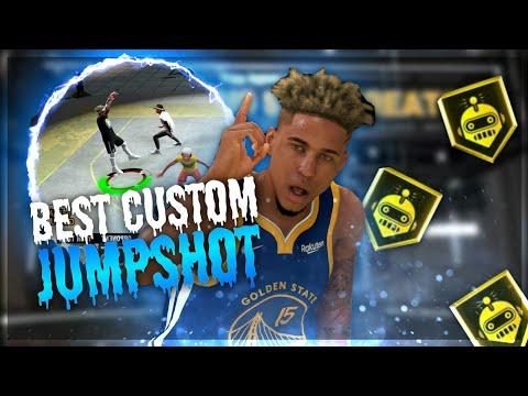BEST CUSTOM JUMPSHOT for SHOTCREATORS in NBA 2K20