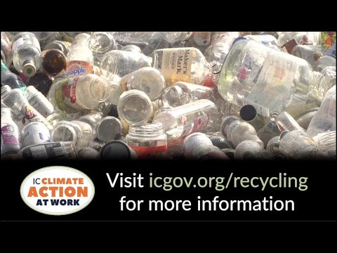 How to Recycle Glass in Iowa City