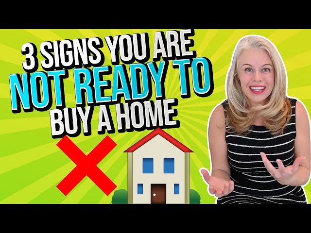 3 Signs You Are NOT Ready To Buy a House In 2021 w/ US Top 50 Mortgage Lender Jennifer Beeston