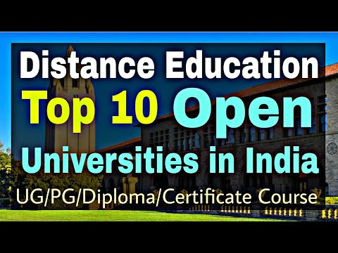 Top 10 Open Universities in India || Best Distance Education Colleges in India || By Sunil Adhikari