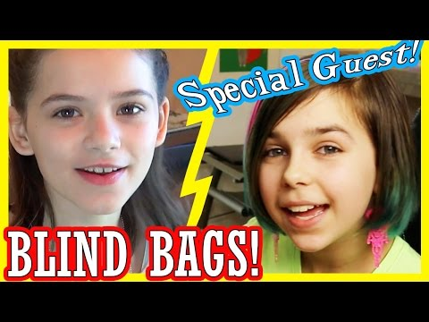 BLIND BAGS! Ep. 2 With RadioJH Audrey! | My Little Pony, Shopkins, Disney Frozen w Olaf, Anna, Elsa