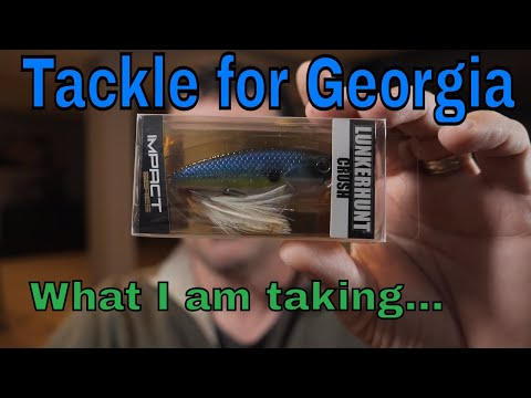 Georgia Fishing-Tackle Talk   #BassFishingGA