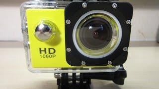 sJ4000 Экшн-камера с AliExpressТЕСТЫ