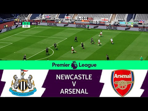 Newcastle United vs Arsenal   EPL Matchday 34   English Premier League Live Game eFootball 2021