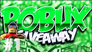 FREE ROBLOX ACCOUNT GIVEAWAY WITH ROBUX EP1