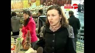 Самбери. Открытие гипермаркета в Уссурийске. 19 апреля 2013