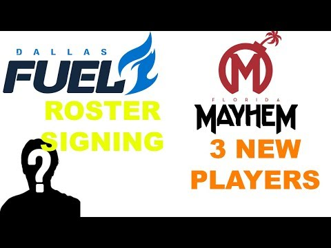 DALLAS FUEL SIGN OWL WORLD CHAMPION FROM LONDON SPITFIRE! FLORIDA SIGNS 3!