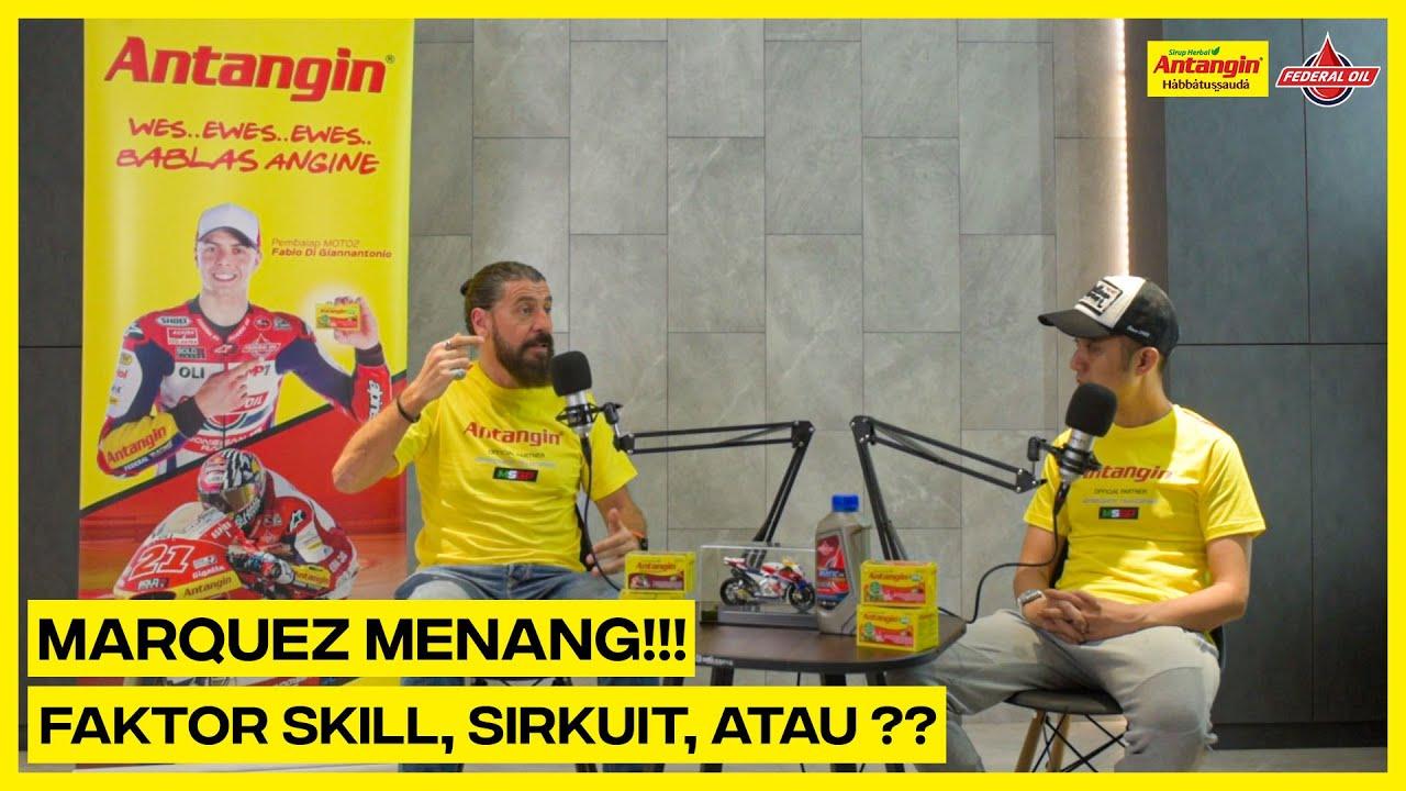 "MSGP - SACHSENRING - ""Marc Marquez Menang!!! Faktor Skill, Lintasan, Atau???"""