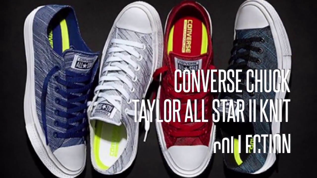 f991745c2b2 CONVERSE CHUCK TAYLOR ALL STAR II KNIT COLLECTION  SNEAKERS STAR ...