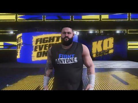 Watch Kevin Owens' WWE 2K20 entrance