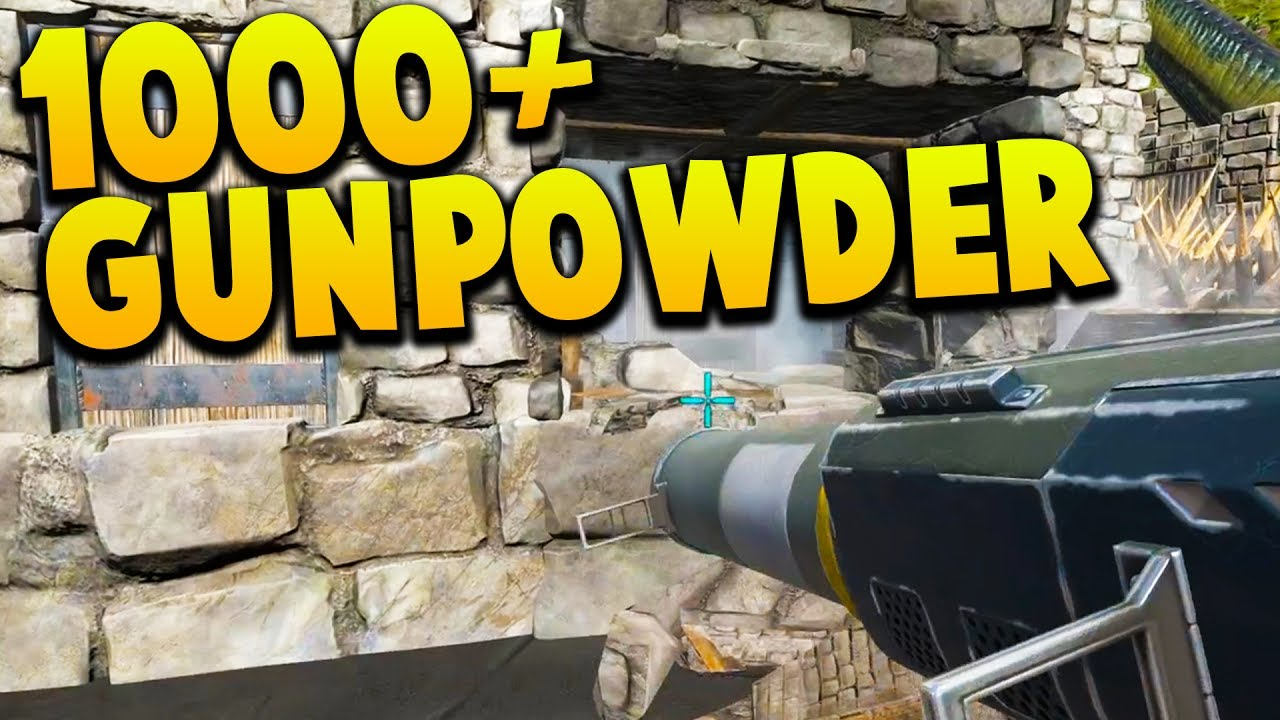 how to get gunpowder in ark