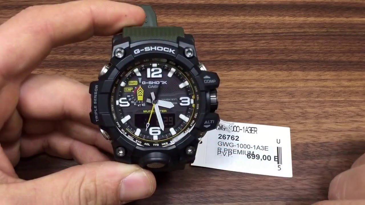 4f3d11be56d Reloj Casio G-Shock Mudmaster - YouTube