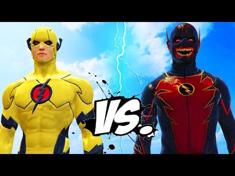 Professor Zoom VS Reverse Flash - EPIC BATTLE
