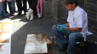 Ecuador Street Artist Travel Video