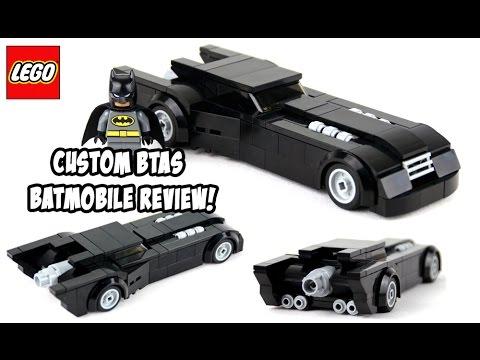 custom lego batman the animated series batmobile review. Black Bedroom Furniture Sets. Home Design Ideas