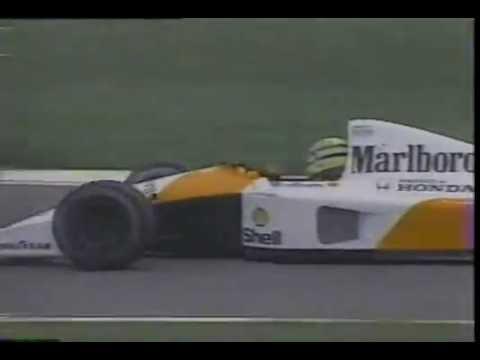 F1 1991 - 02 Interlagos / Brazil (Full English Audio)