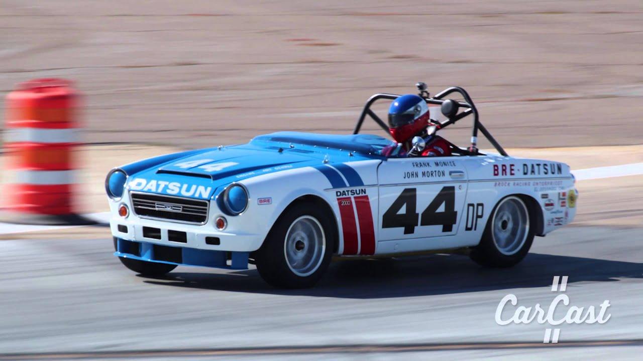 Adam Carolla's BRE Roadster Throws a Rod - 2015 Coronado Speed Festival